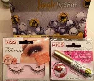 KISS PureVolume lashes & Strip Lash Adhesive with Aloe