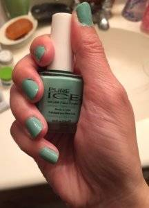 Pure Ice Nail Polish in Home Run