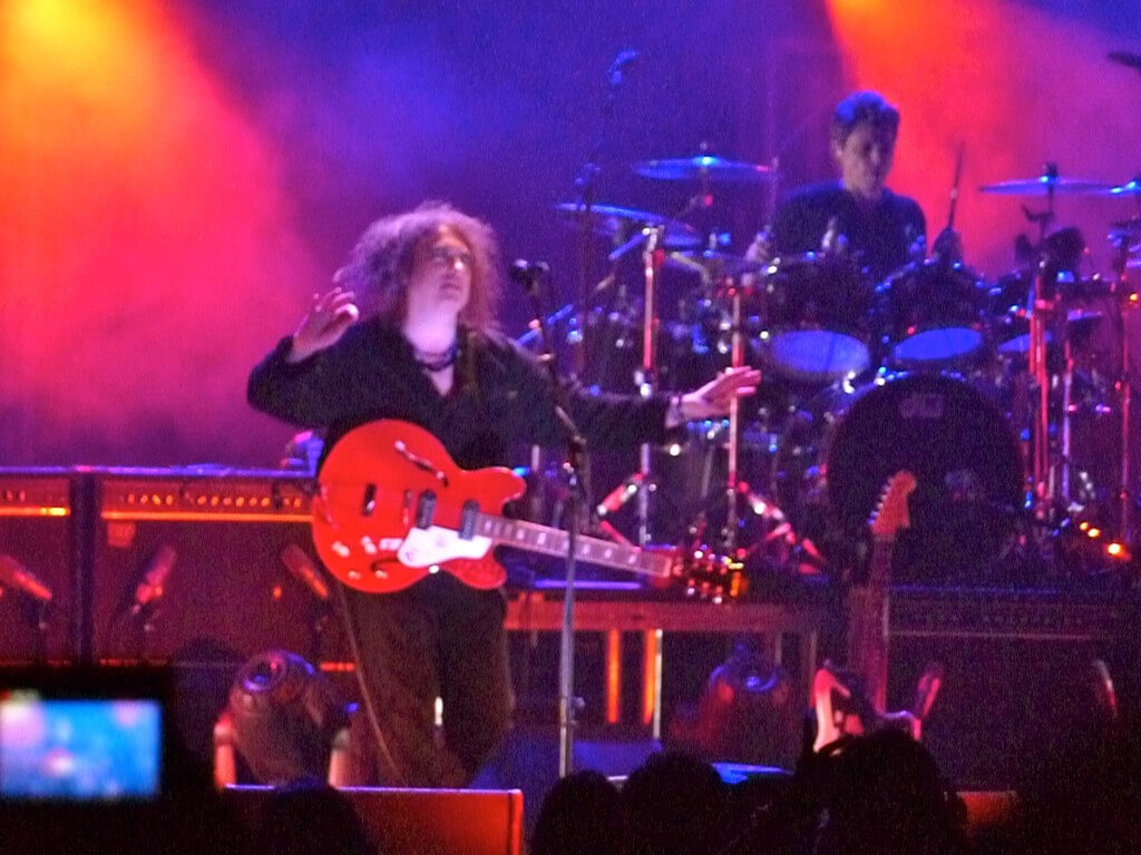 "The Cure ""Reflections"" Night 1 at the Pantages Theater 4"