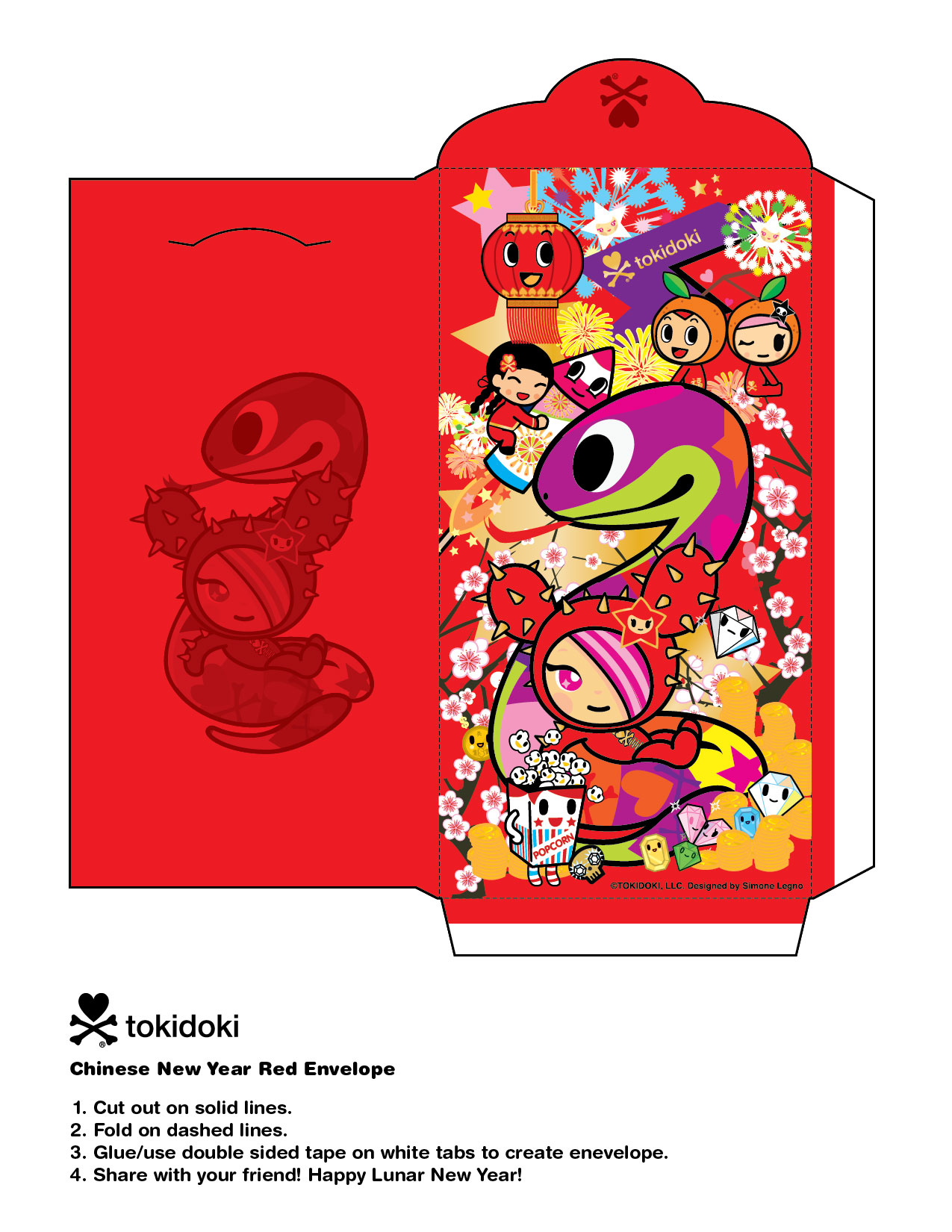 Happy Year of the Snake! 1