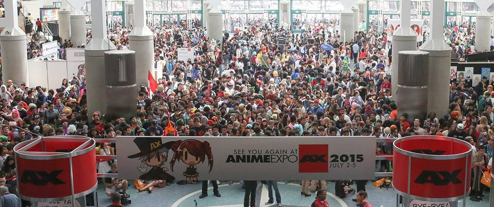Anime Expo 2014 crowd