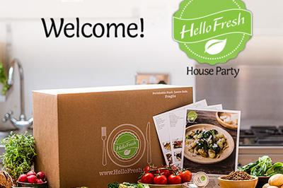 HelloFresh House party + Examiner articles 8