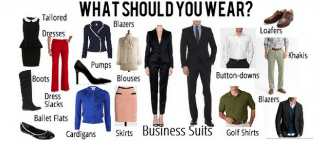 the perfect business conference outfit.