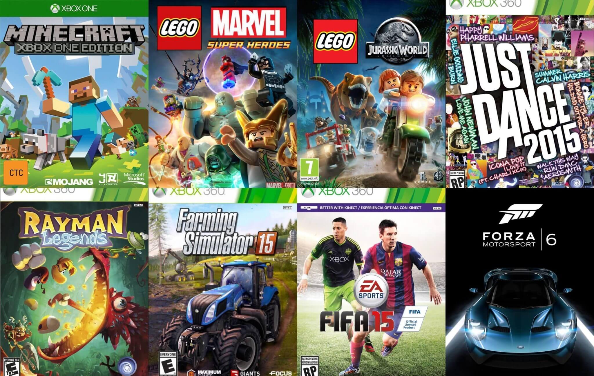 The Most Popular Xbox Games for Children and Young Teens 4