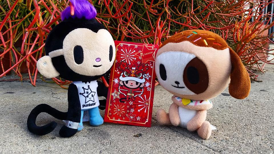 the Year of the Monkey tokidoki red envelope