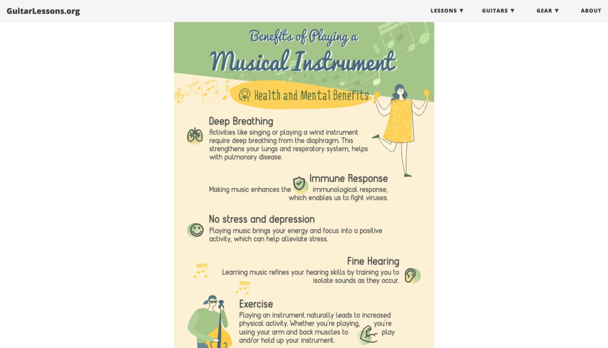 The Benefits of Playing a Musical Instrument 3