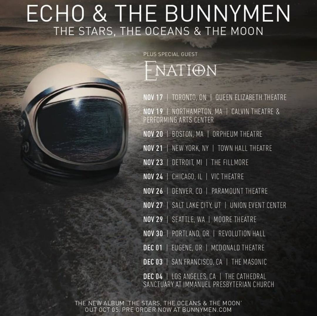Echo & the Bunnymen North American Fall 2018 Tour dates! 5