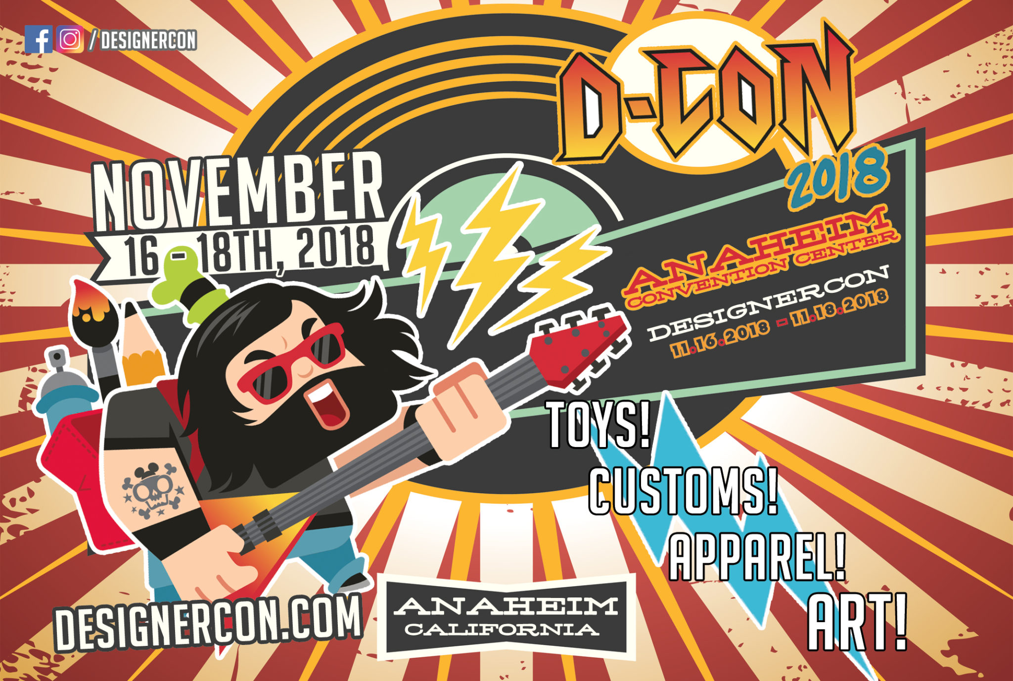 13th Annual DesignerCon Expands To Anaheim With Triple Exhibition Space, International Partnerships & More 2